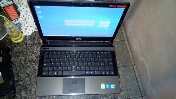 Notebook Usado Barato Sti Semp Core I3 4gb 500gb Hd 100%