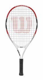 Raqueta Para Unisex Wilson - Federer 23 Rojo/blanco - Tenis