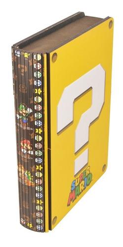 Imagem 1 de 3 de Caixa Livro Mario Bros - Promoção