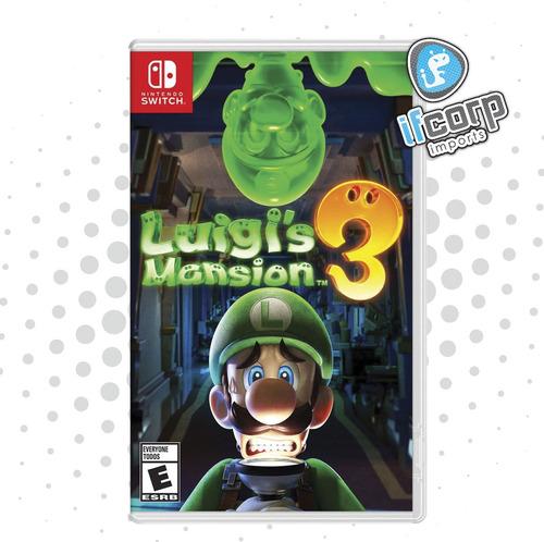 Imagen 1 de 1 de Luigi Mansion 3 Nintendo Switch