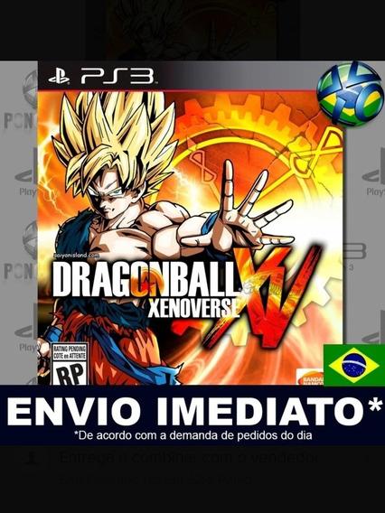 Dragon Ball Xenoverse Ps3/midia Digital
