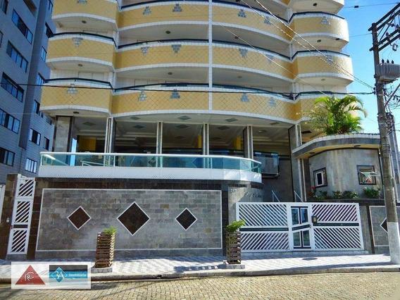 Apartamento Com 3 Dormitórios À Venda, 147 M² Por R$ 450.000 - Solemar - Praia Grande/sp - Ap5738