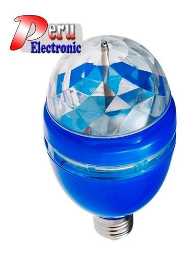 Foco Led Luces Sicodelicas E27 Grande Resolucion Mejorada
