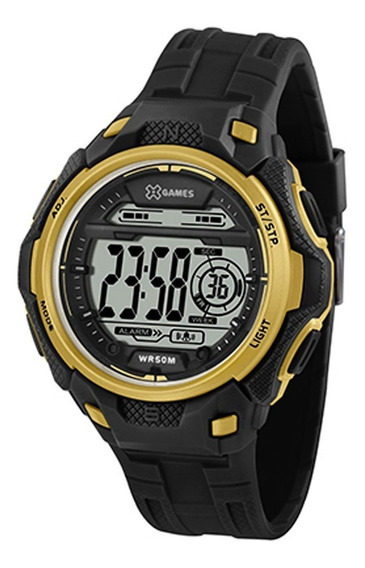Relógio X-games Masculino Xport Preto Xmppd569-pxpx