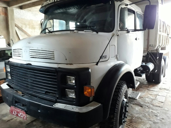Caminhão Caçamba Truck Mb 1519 Leito