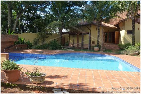 Casa Com 4 Dormitórios À Venda, 300 M² A/c E 1.000m² A/t.,por R$ 1.250.000 - Chácara Santa Margarida - Campinas/sp - Ca2137