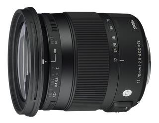 Sigma Lente 17-70mm 2.8-4 Dc Macro Para Canon Ef