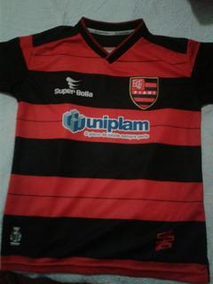 Camisa Flamengo Do Piaui Super Bolla 12 Anos
