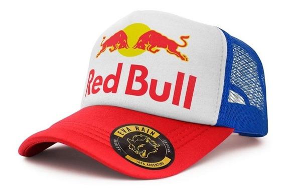 Gorras Trucker Red Bull Eva Rain
