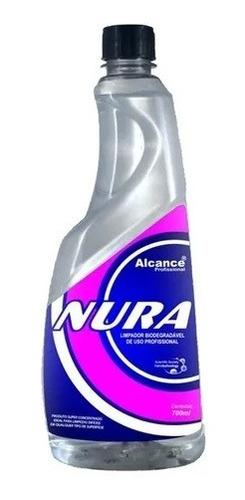 Imagem 1 de 1 de Nura Super Limpador Biodegradável Concentrado 700ml Alcance