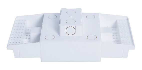 Caixa Embutir Painel Led Na Laje Plasled 12w / 17x17 01 Unid