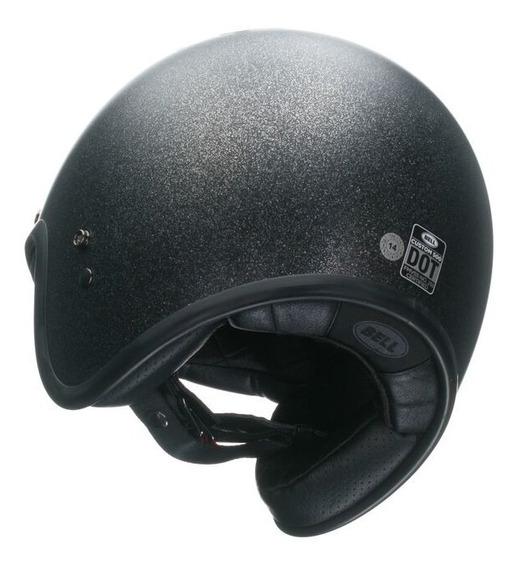 Capacete Bell Custom 500 Black Flake