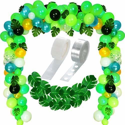 Globos Decorativos Para Fiestas Tematicas De La Selva 120 Un