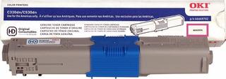 Toner Original Oki C331 330 Color Negro 44973596
