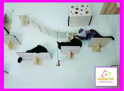 Imagem 1 de 4 de Prateleira Para Gatos - Kit Com 5 Unidades--