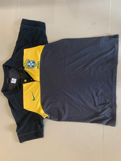 Camisa Polo Cbf Nike Seleção Brasileira