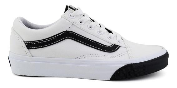 Tenis Vans Para Dama Vn-0a38g1voy Blanco [van1321]