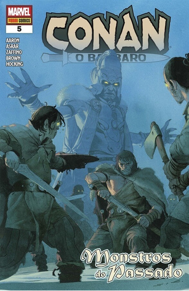 Conan, O Bárbaro Nº 5 ( Panini - 2020 )