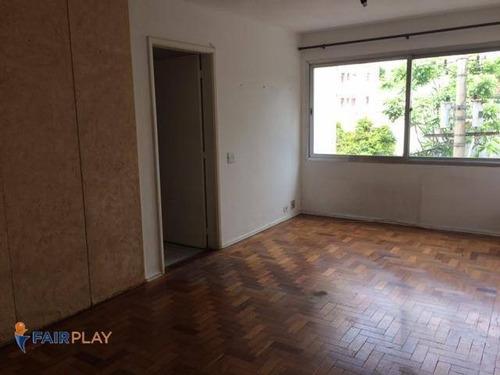 Imagem 1 de 15 de Apartamento 02 Dorm 1 Vaga Campo Belo - Ap5730