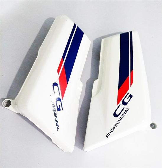 Tampa Lateral Cg Cargo Com Adesivo Branco 92/93 (par)