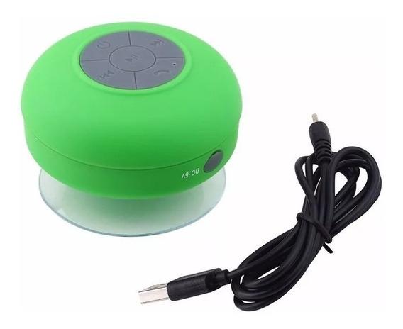 Mini Caixinha De Som Pra Banheiro Bluetooth Prova De Água
