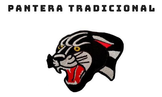 Parche Bordado Pantera Tradicional Termoadhesivo
