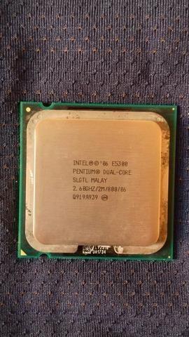 Processador Intel Pentium Dual Core E5300 2.60ghz/2m/800
