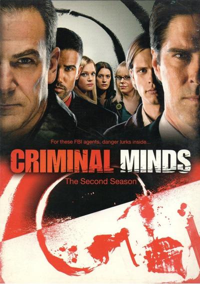 Criminal Minds/ Mentes Criminales2 Segunda Temporada Dos Dvd