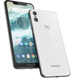 Celular Motorola One Branco 64gb 4gb Ram Tela De 5.9