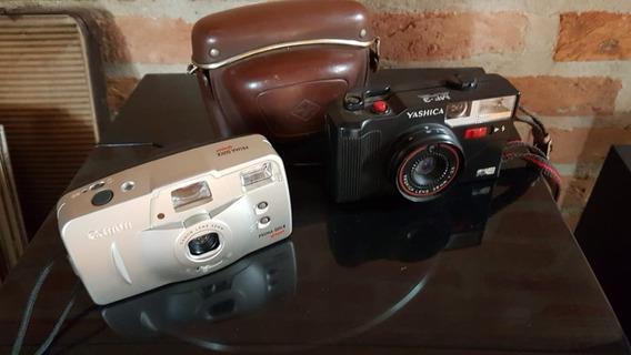 Conjunto 03 Câmeras De Fotografar