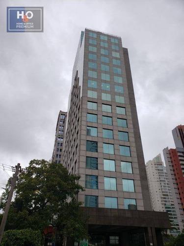 Andar Corporativo Para Alugar, 509 M² Por R$ 40.000/mês - Chácara Santo Antônio (zona Sul) - São Paulo/sp - Ac0015