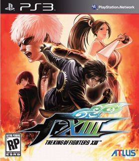 Kof 13 The King Of Fighters Xiii - Jogos Ps3 Playstation 3