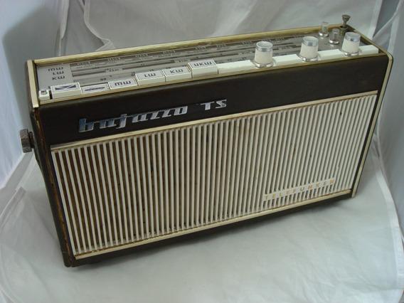 Radio Telefunken Bajazzo Ts Am Fm Ondas Curtas Lw Transistor