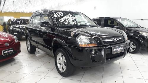 Hyundai Tucson Gls 2.0 Aut. Preta 2010 Completa Nova.