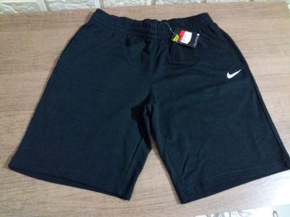 Bermuda De Moletom Nike,nova Com Etiquetas E Original.