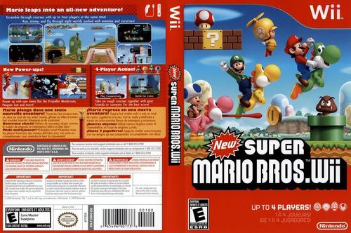 Juego Original Físico -new Super Mario Bros.wii- Wiisanfer