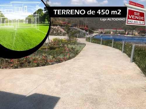 Se Vende Terreno En Altozano De 450 M2 - Laja, De Oportunidad !!