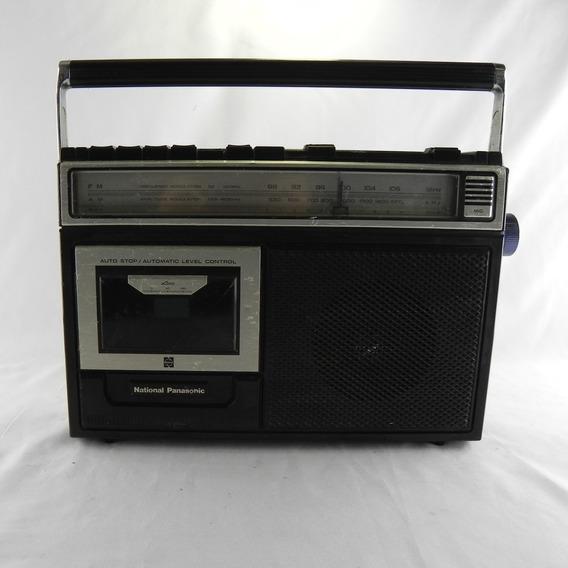 Rádio Am/fm Gravador National Panasonic Rx-1250 Com Defeito