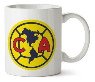 Tazas De Futbol Mexicano América, Chivas, Atlas..