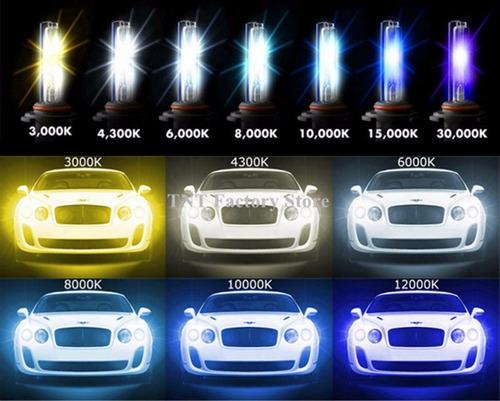 Imagen 1 de 4 de Luces Hid Xenon Autorus 6000k / 8000k