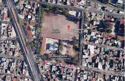 Terreno En Venta En Culhuacan, Df