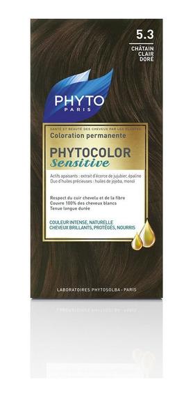 Phytocolor Sensitive # 5.3 Castaño Claro Dorado