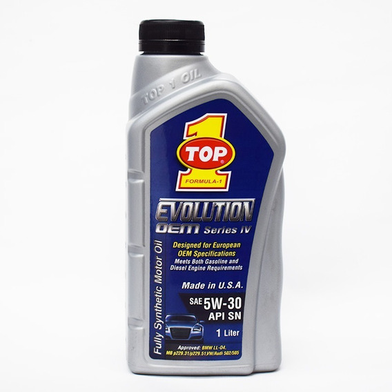 Aceite Top 1 Evolution Dem 5w30 Sintetico Dual