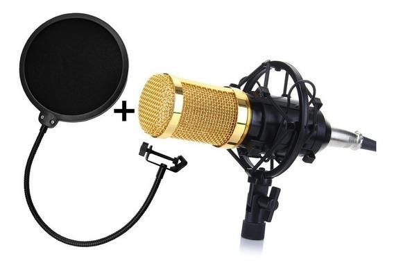 Microfone Condensador Bm 800 Bm800 Studio Gravação