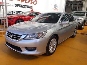 Honda Accord 3.5 Ex-l Sedan V6 Piel Abs Qc Cd Nav Cvt