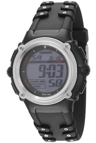 Relógio Speedo Unissex Sport 81058g0ebnp1 Digital Preto