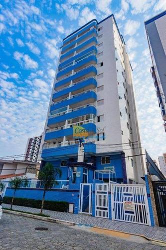 Imagem 1 de 26 de Apartamento Com 2 Dormitórios À Venda, 69 M² Por R$ 310.000,00 - Ocian - Praia Grande/sp - Ap15758