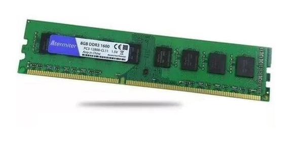 Memória Ram 8gb Ddr3 1600 Mhz Para Amd Am3 Am3+ Promoção