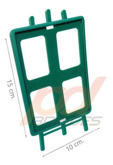 Porta Retrato Vertical Para Personalizar Verde - 50 Unidades