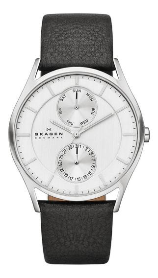 Relógio Skagen Couro - Skw6065/z